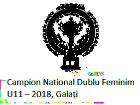 Campion National Dublu Feminim U11 – 2018, Galati