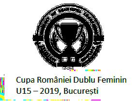 Cupa Romaniei Dublu Feminin U15 – 2019, Bucuresti