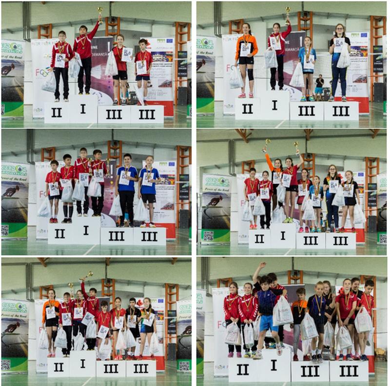 CN pe echipe și Cupa României U13 podium.