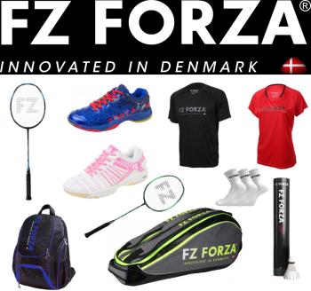 articole de badminton profesionale, marca FORZA