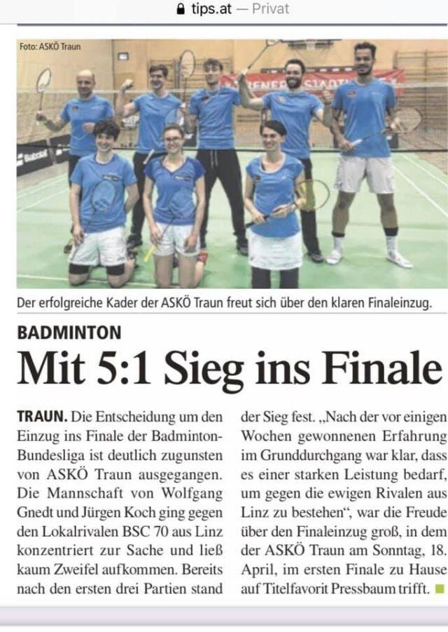 Performanta a badmintonului romanesc in Austria!